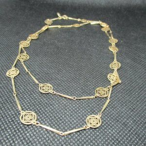 3 for $20 Avon Gold Dainty Flower Chain Necklace